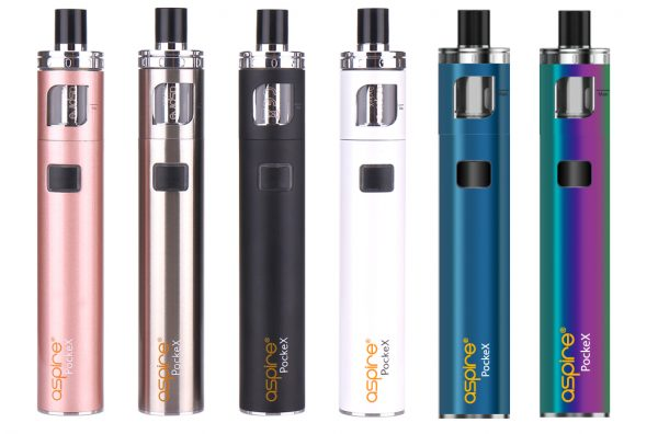 E-cigarette Aspire Pockex vape device