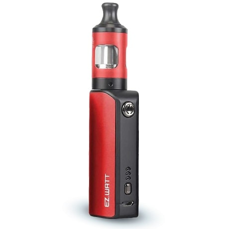 Innokin EZ WATT e-cigarette kit with Prism S in red colour
