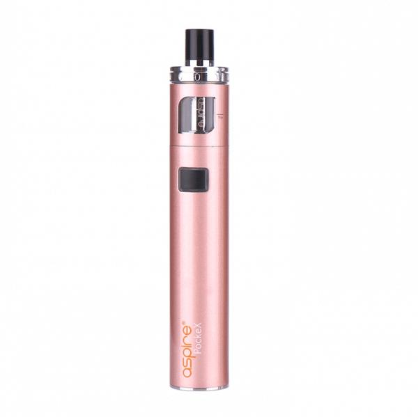 E-cigarette Aspire Pockex vape device gold