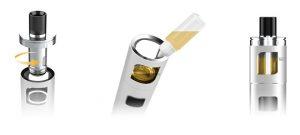 Refilling e-cigarette Aspire PockeX