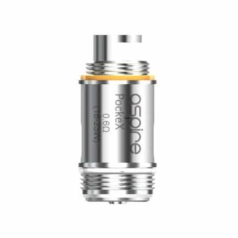 Coil for E-cigarette Aspire Pockex vape device