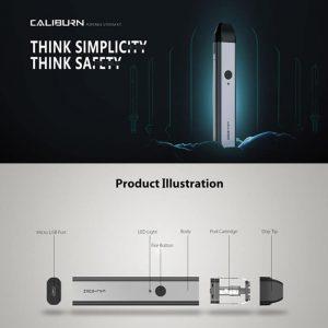 Caliburn Pod System in detail