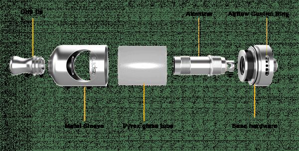 Tank Aspire Nautilus Clearomizer Detail
