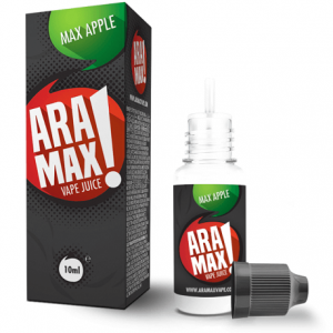 Aramax Max Apple 10ml e-liquid bottle Ireland