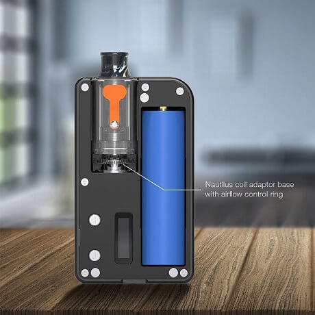 Where to put Coils into Aspire Mulus Kit