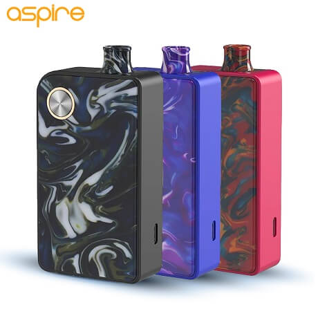 Aspire Mulus Pod System Kit Cover Picture with logo