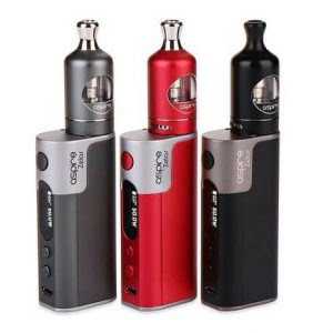 Aspire Zelos e-cigarette kit in all colours
