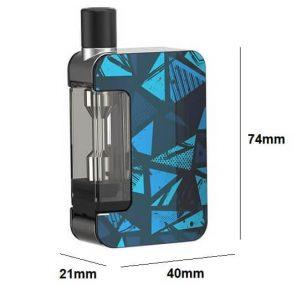 Exceed Grip e-cigarette dimensions