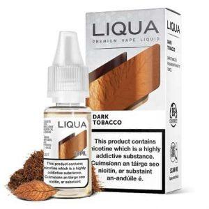 Liqua Dark Tobacco 10ml vape e-liquid bottle