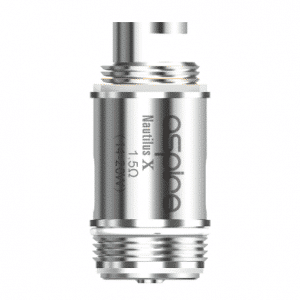 Nautilus X Coil Heads for vape devices and e-cigarettes