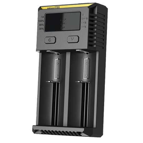 NEW i2 Battery Charger side view