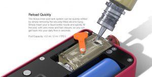 Refilling Aspire Mulus with e-liquid