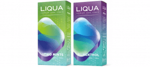 Refreshingly Strong Menthol Liqua E-liquids