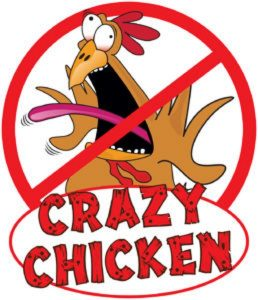 Crazy Chicken E-liquids Logo