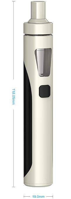 e-cigarette Joyetech EGO AIO kit vape device size