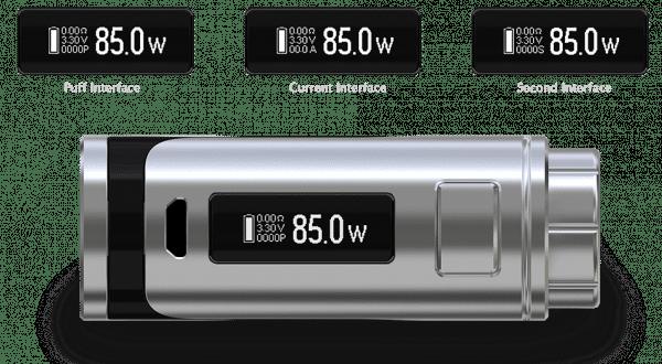 e-cigarette Eleaf iStick Pico25 kit vape device display