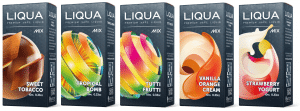 Liqua MIX selection of e-liquids