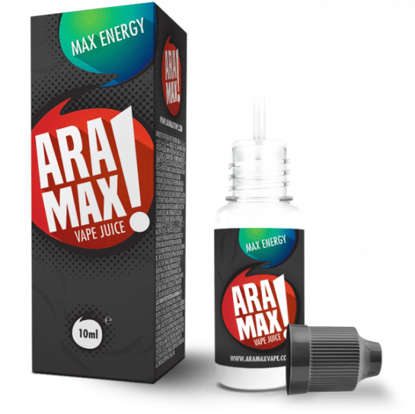10ml e-liquid bottle Aramax Energy