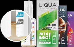 Selection of Liqua E Liquids