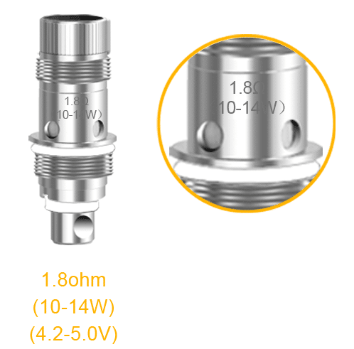 Aspire Nautilus Coil Heads for vape devices and e-cigarettes