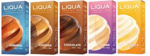 Sweet & Indulgent Liqua E-liquids