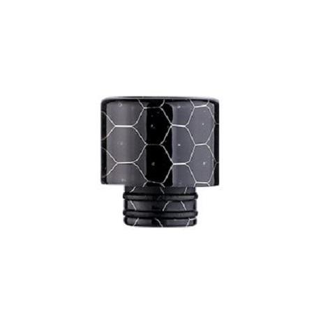 Black Resin 510 Drip Tip in cobra design