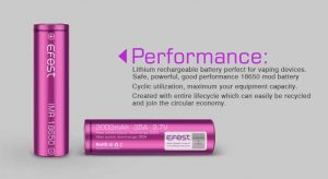 Efest IMR 18650 battery performance
