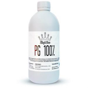 100% PG e-liquid vape base in a 500ml bottle by King's Dew