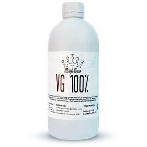 100% VG Vape Base 500ml bottle by King's Dew