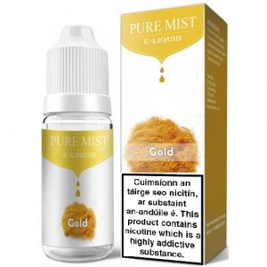 Pure Mist e-liquid gold