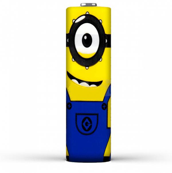 e-cigarette battery foil minion