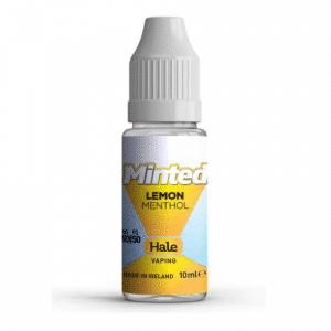 e-liquid hale lemon menthol - minted