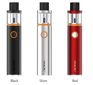 Smok Vape Pen 22 in black, silver and red colour