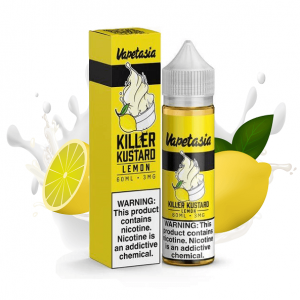Vapetasia Killer Kustard Lemon eliquid bottle