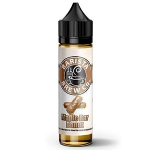 Barista Brew Co. Maple Bar Donut 60ml Vape Juice bottle with shadows