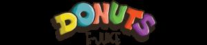 Donuts e-juice logo vape company