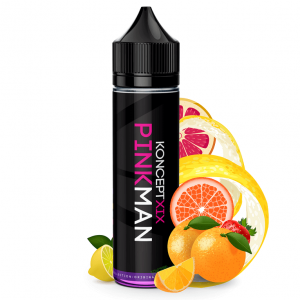 Pinkman - Koncept XIX ejuice bottle with fruits