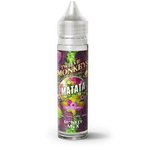 Twelve Monkeys Matata 60ml Vape Juice with splash of grapes and apples