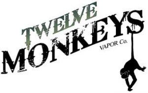 12 Twelve Monkeys e-liquids logo