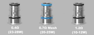 Replacement Coils for Aspire Tigon BVC and Mesh