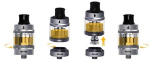 Coil replacement and changing in Aspire Tigon Tank