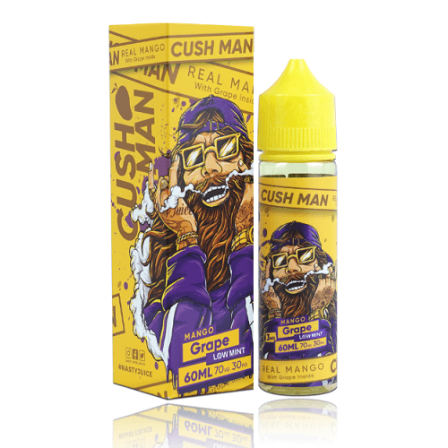 50 ml E-liquid Nasty Juice Cush man - Grape mango with fruits