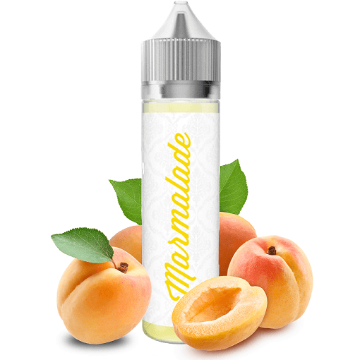 50ml e-liquid bottle Marmalade Apricot with fruits
