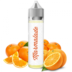 50ml e-liquid bottle Marmalade Orange with fruits