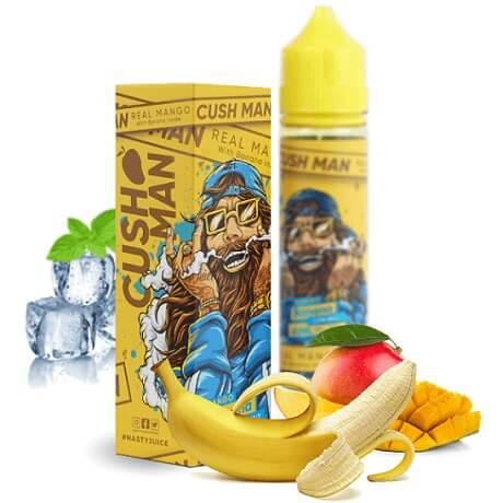 50ml E-liquid Nasty Juice Cush man - Banana mango with fruits and ice