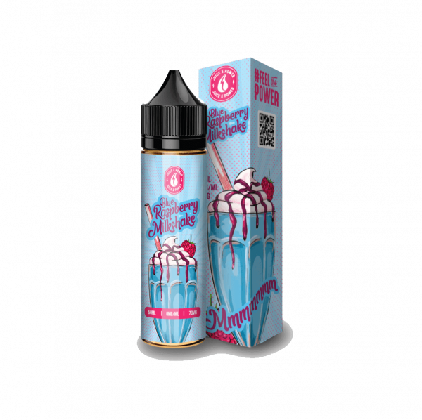 Raspberry Milkshake 50ml e-liquid bottle