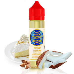 Mama's Coconut Cream Pie e-liquid shortfill bottle
