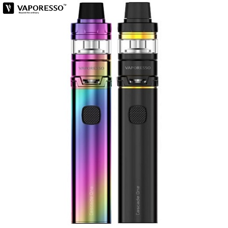 Vape Kit Vaporesso Cascade One in black and rainbow colour