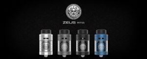 Zeus RTA GeekVape in colours