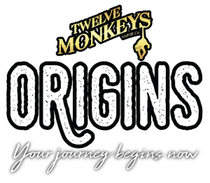 12 Monkeys Origins Logo